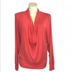 NEW Soft Surroundings Top 3X Coral Viscose Cowl